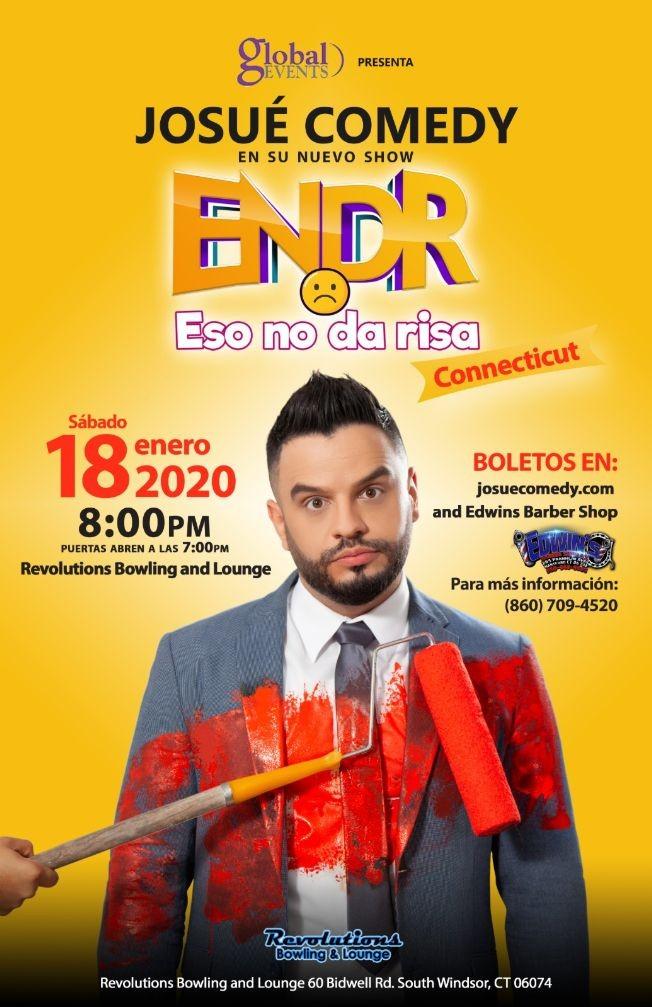 Flyer for Eso No Da Risa (Josue Comedy)