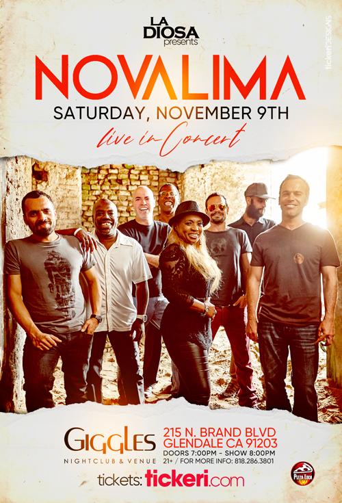 Flyer for NOVALIMA EN LOS ANGELES