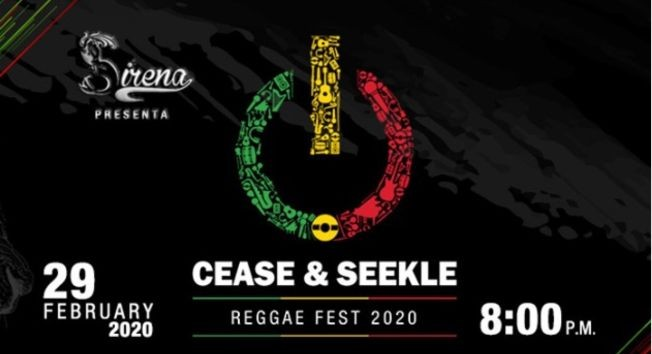 Flyer for CEASE & SEEKLE - Reggae Fest 2020