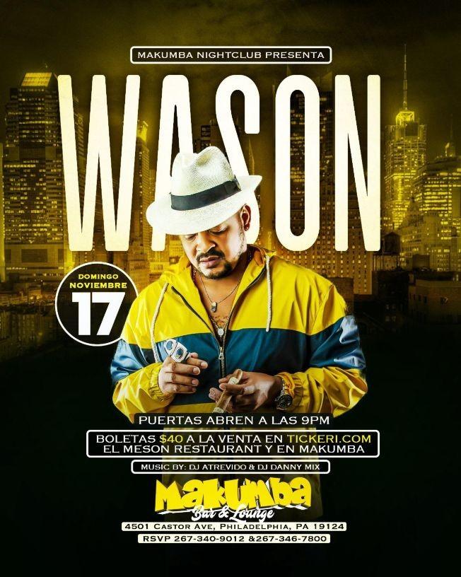 Flyer for Wason en Philadelphia,PA