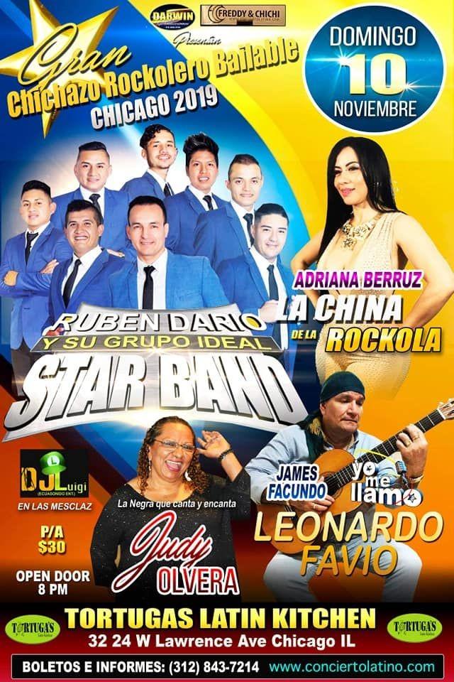 Flyer for Gran Chichazo Rockolero Bailable en Chicago