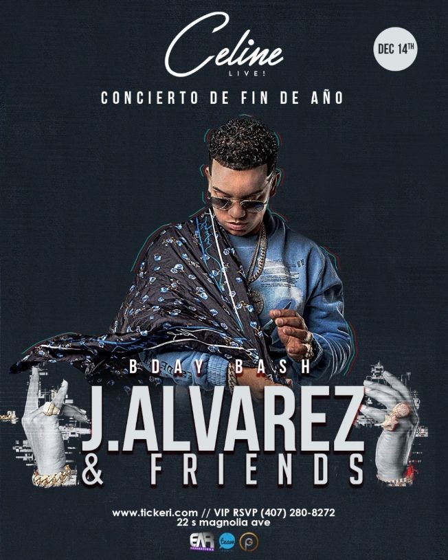 Flyer for J Alvarez & Friends  ''Concierto de Fin de Año 2019''