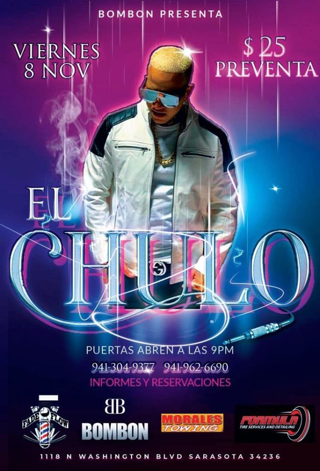 Flyer for El Chulo