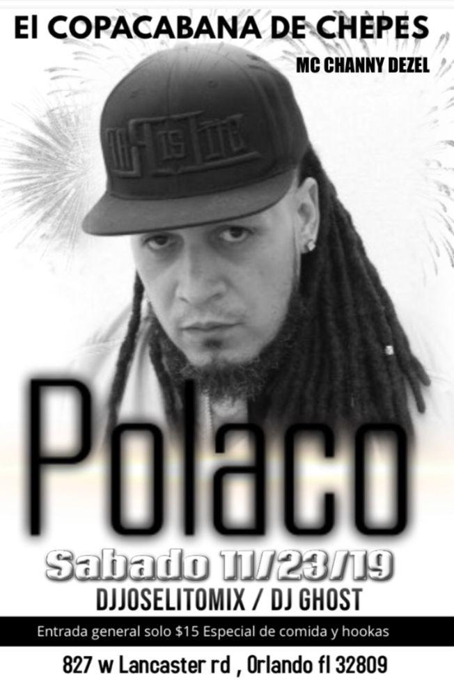 Flyer for POLACO LA LEYENDA