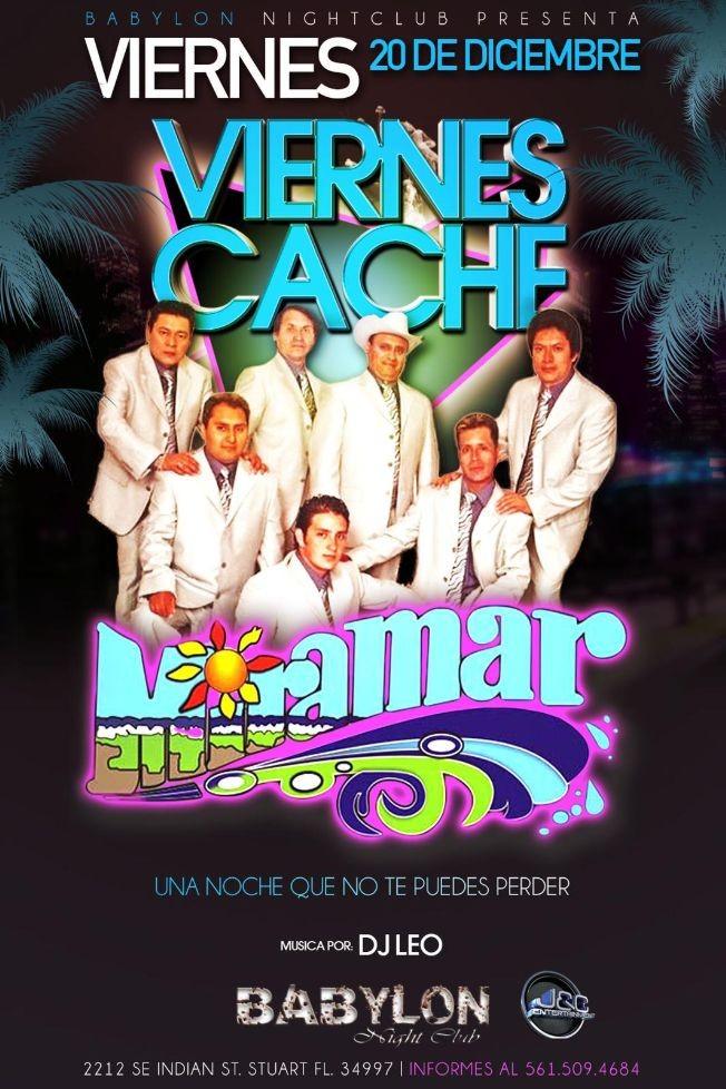 Flyer for Grupo Miramar En Vivo En El Babylon Nightclub