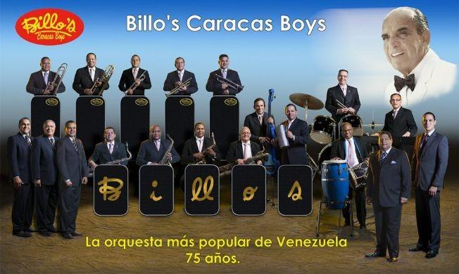 Flyer for Super Baile De Fin De Año Con Los Billos Caracas Boys En Concierto En Tampa,FL