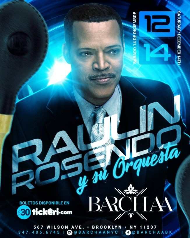 Flyer for RAULIN ROSENDO BARCHAA