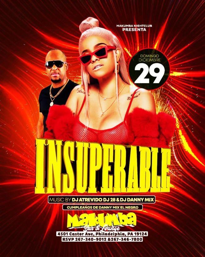 Flyer for La Insuperable En Philadelphia,PA