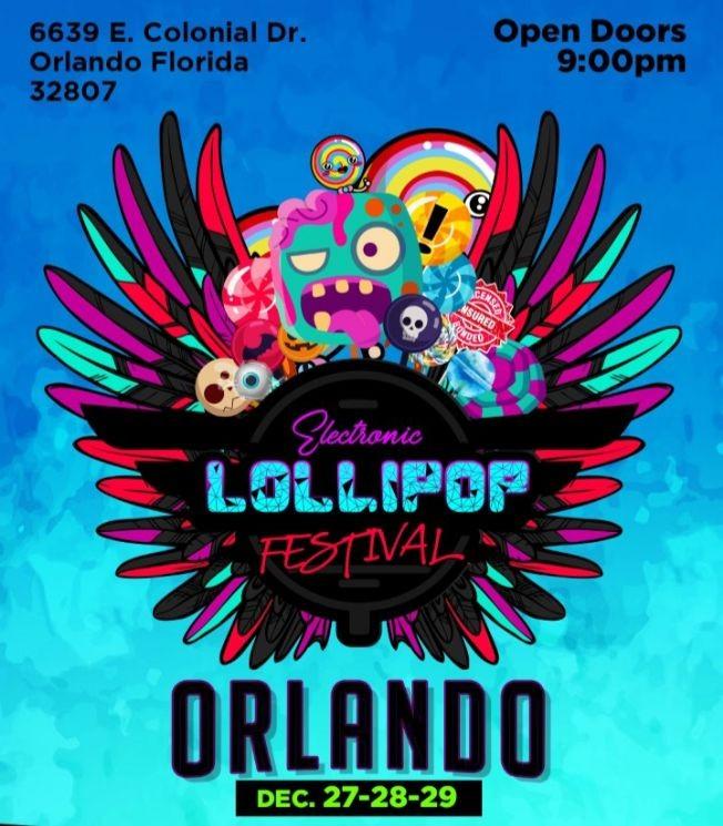 Flyer for Electronic Lollipop Festival
