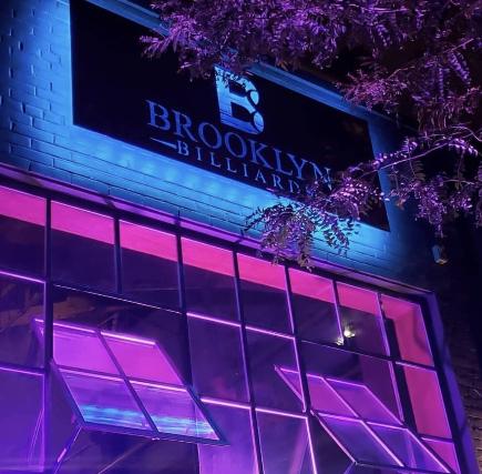 Flyer for Brooklyn Billiards New Years Eve 4 Hour Openbar, Food & Pool