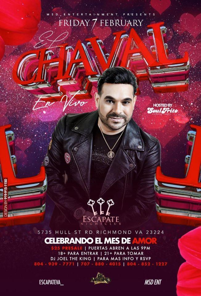 Flyer for El Chaval