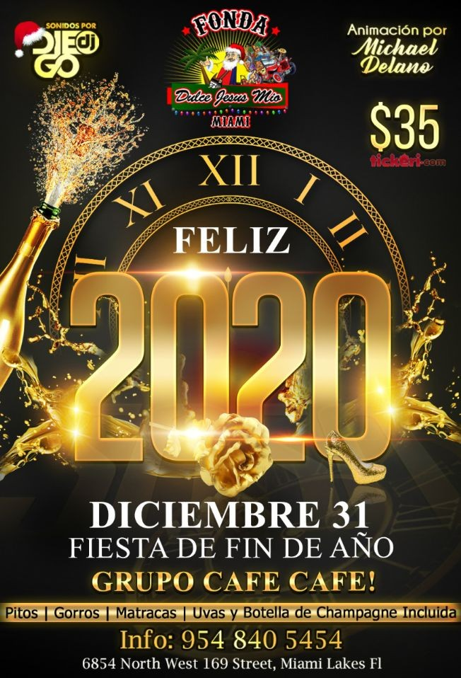Flyer for ***  SUPER FIESTON FIN DE AÑO  ***