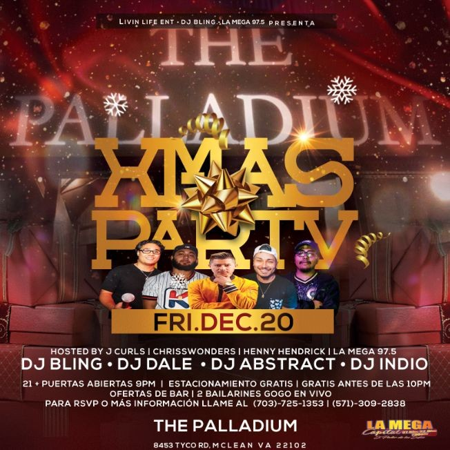 Flyer for Xmas Party