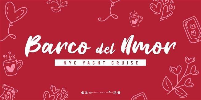 Flyer for BARCO DE AMOR: El # 1 LATINA Crucero oficial en yate para fiestas en barco en NYC