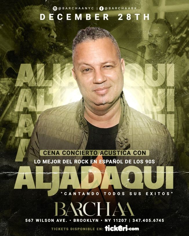 Flyer for ALJADAQUI BARCHAA