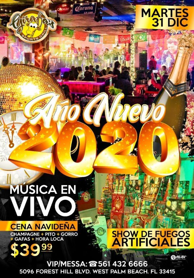 Flyer for FIN de AÑO RUMBA