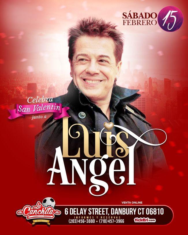 Flyer for Luis Angel en Connecticut