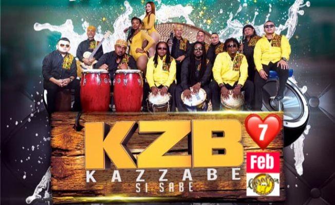 Flyer for Grupo KAZZABE en West Palm Beach