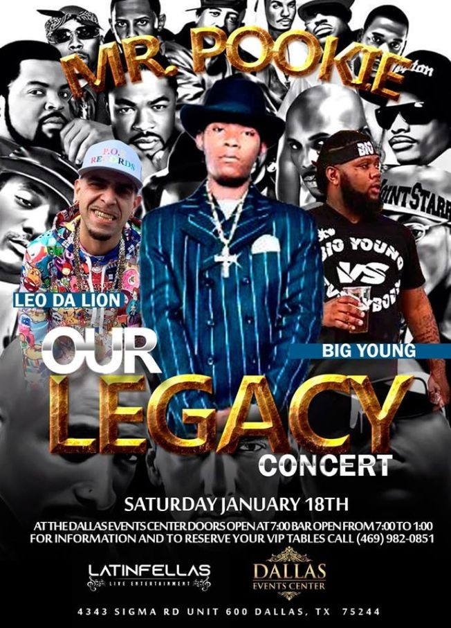 Flyer for Our Legacy Concert