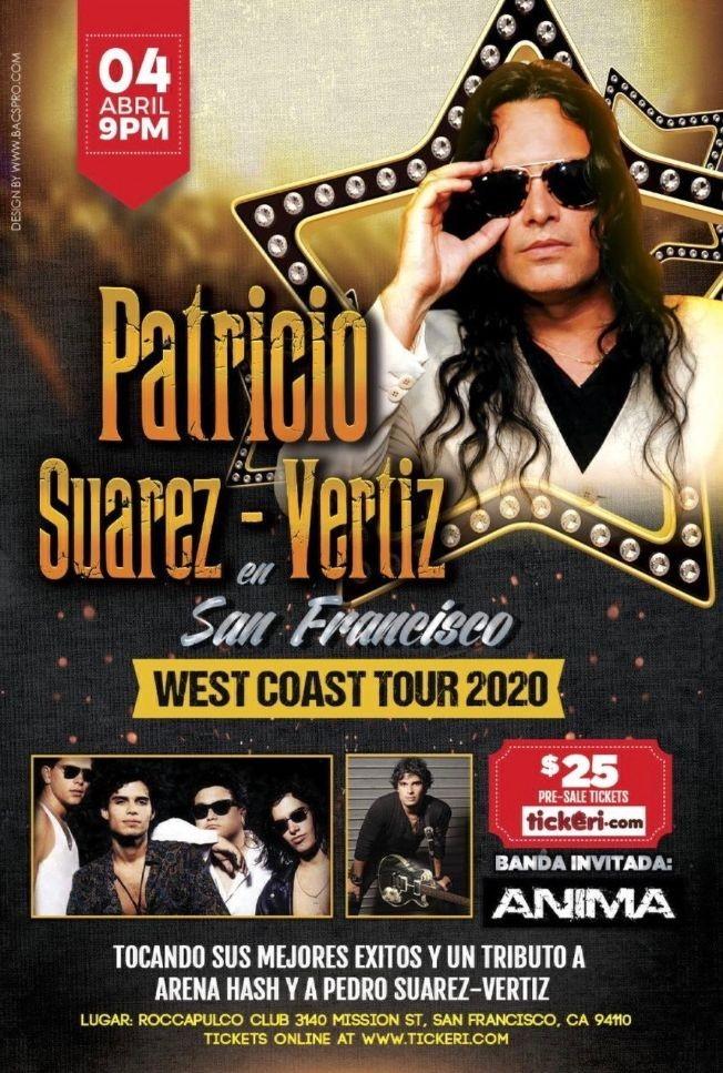 Flyer for Patricio Suarez - Vertiz en San Francisco