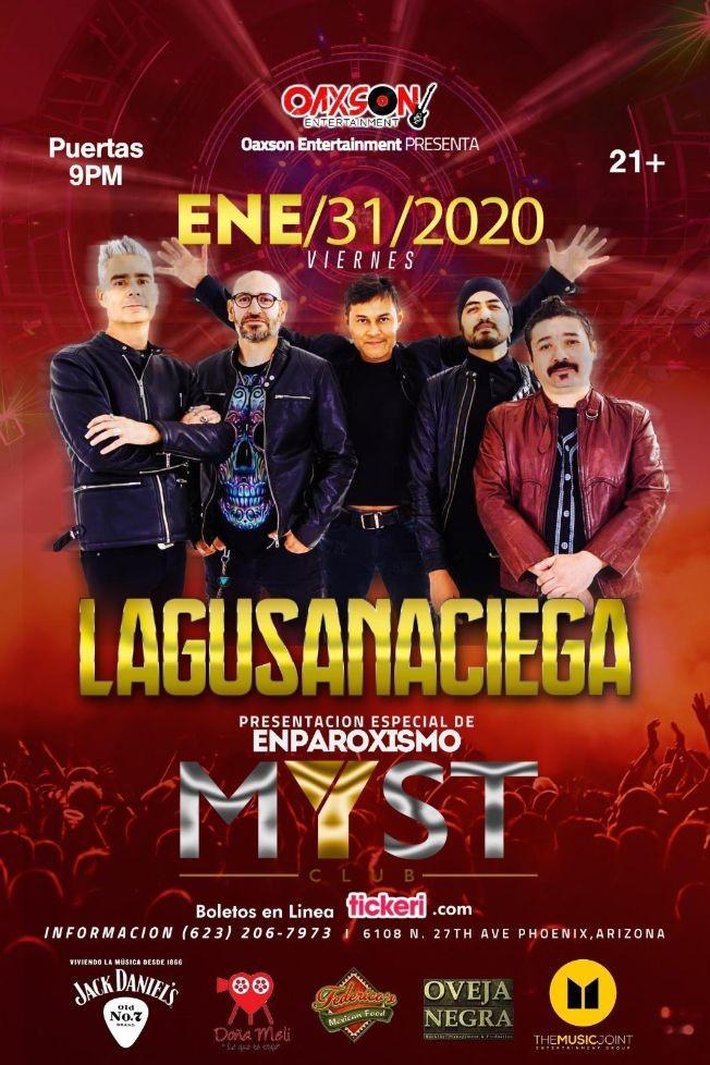 Flyer for La Gusana Ciega En Phoenix,AZ