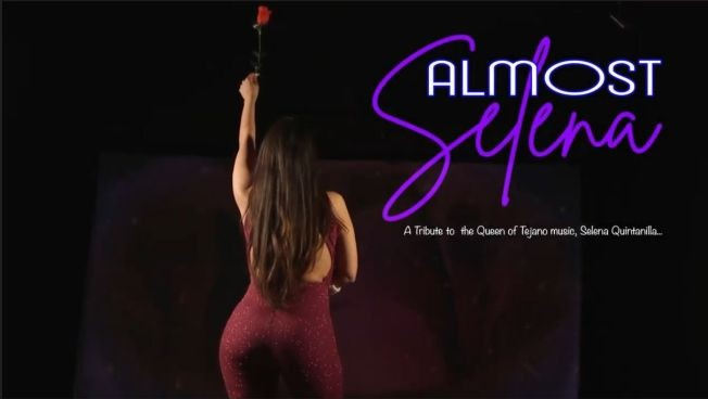 Flyer for Almost Selena: A Tribute to Selena Quintanilla the Queen of Tejano Music!
