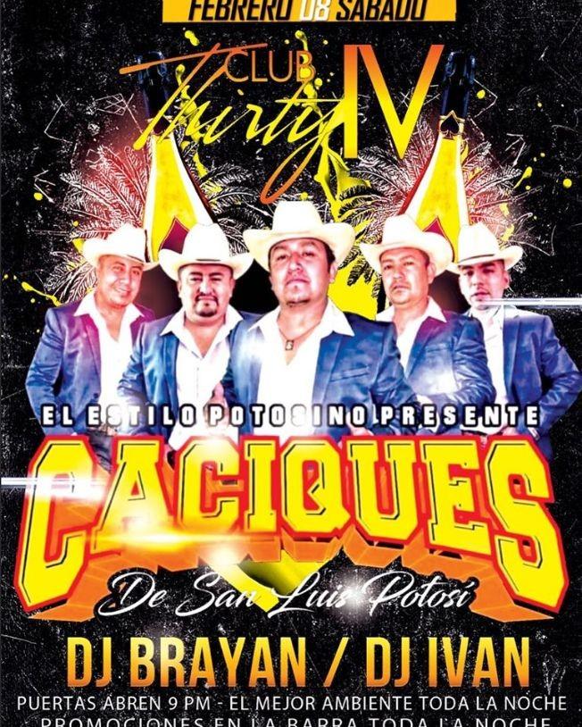 Flyer for Caciques De San Luis Potosi en Vivo!