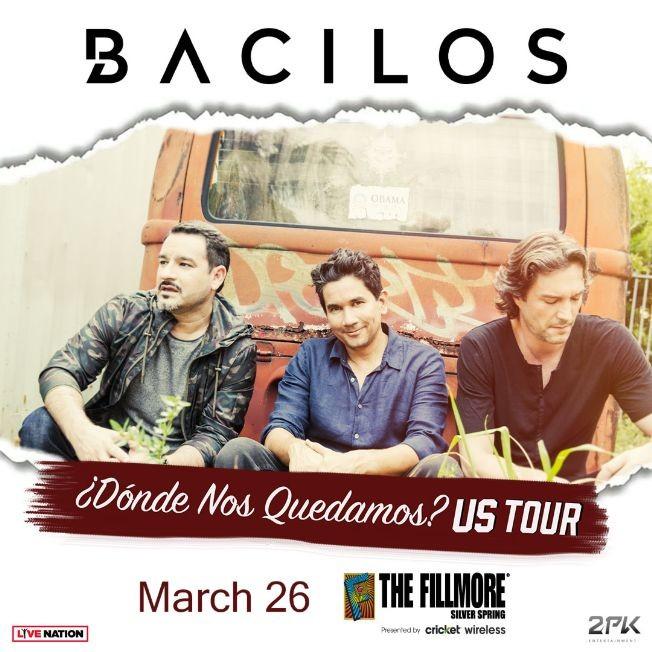Flyer for Bacilos en Concierto - Donde Nos Quedamos Tour 2020 POSTPONED