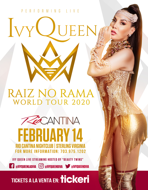 Flyer for Ivy Queen en Concierto!