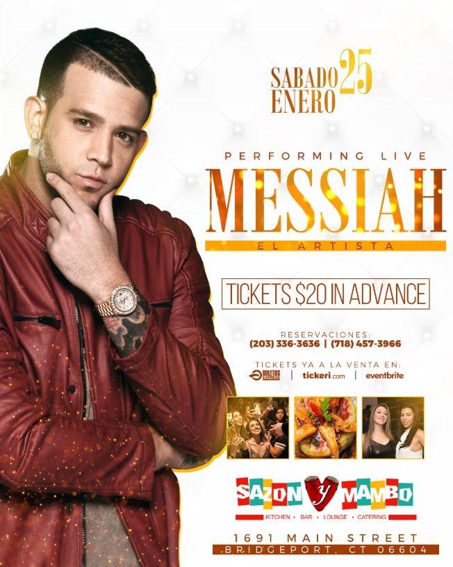 Flyer for Messiah en Connecticut
