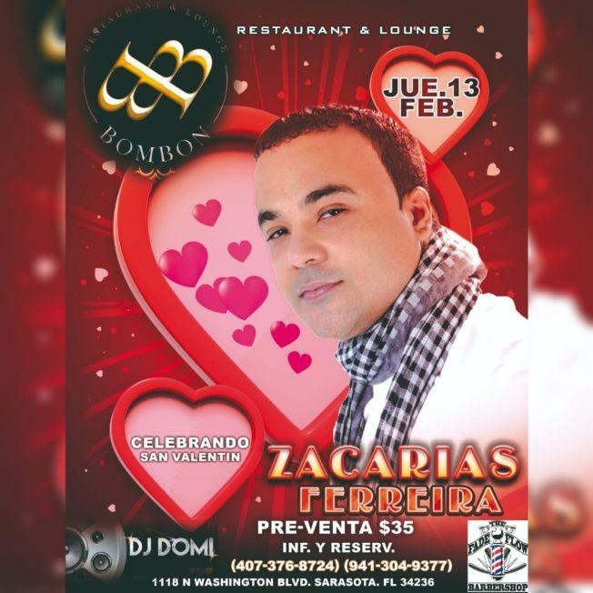 Flyer for Zacarias FERREIRA