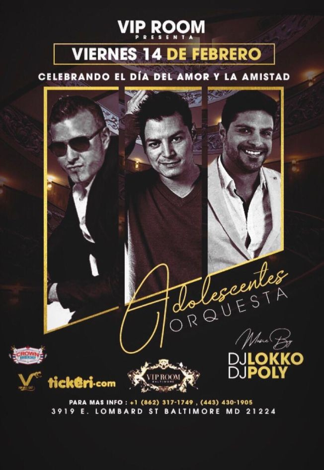 Flyer for Adolescentes Orquesta El Reencuentro