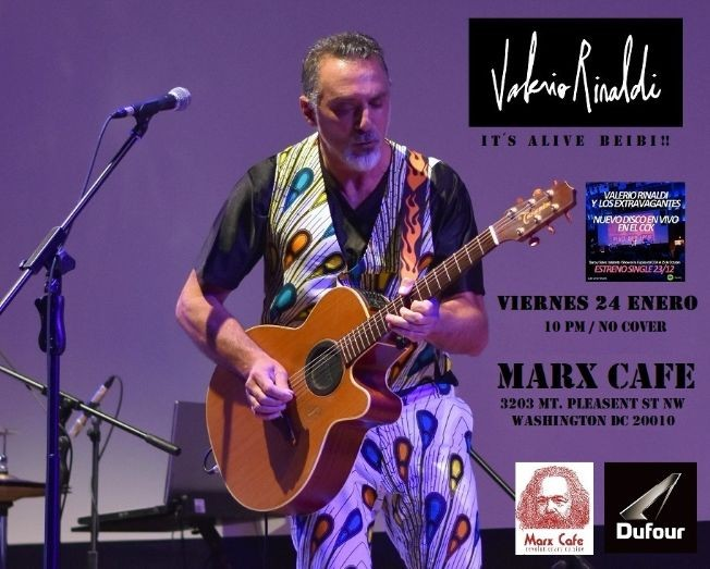 Flyer for Valerio Rinaldi