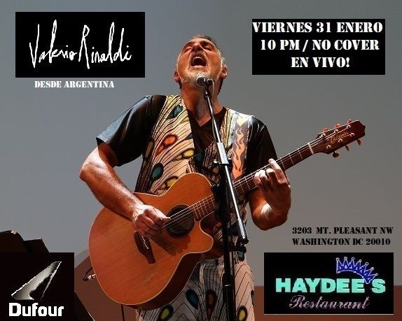 Flyer for Valerio  Rinaldi en Haydees