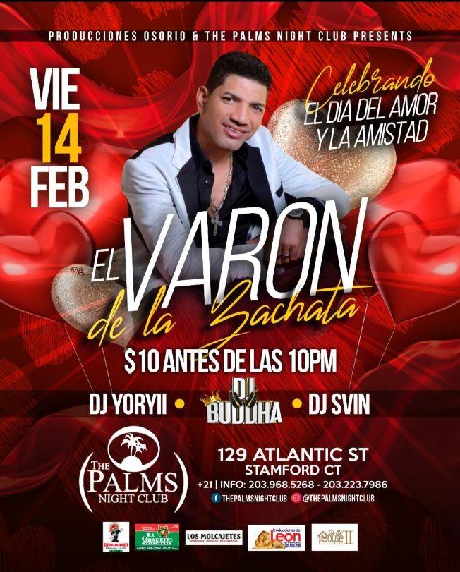 Flyer for El Varon De La Bachata En Concierto En Stamford,CT