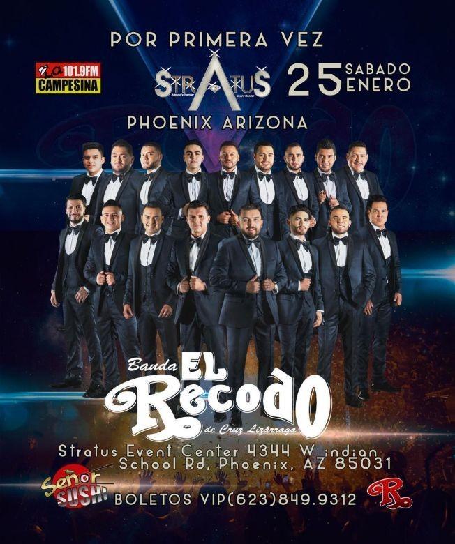 Flyer for BANDA EL RECODO