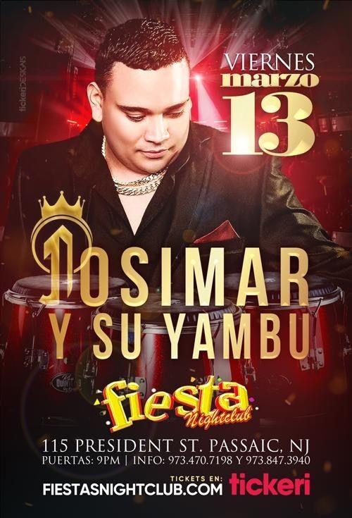 Flyer for Josimar Y Su Yambu