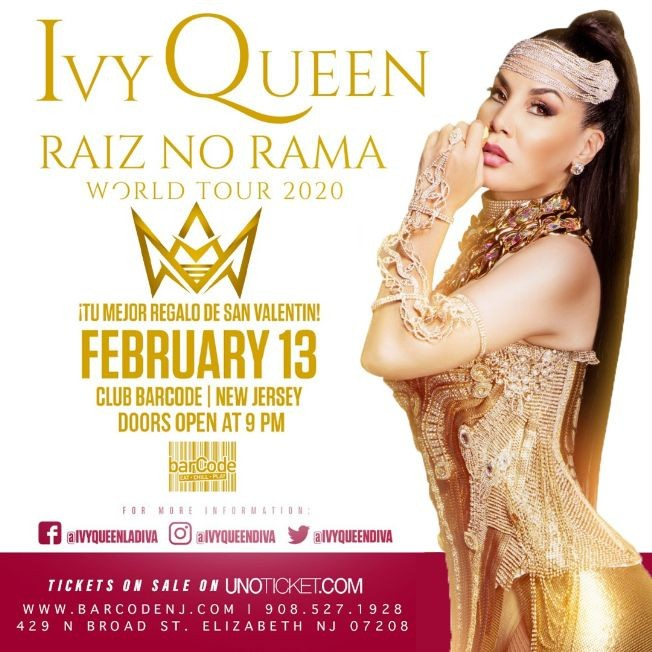 Flyer for Ivy Queen Performing Live @barCode