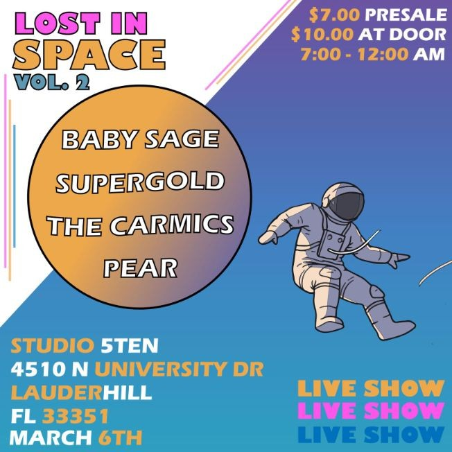 Flyer for Lost in Space vol.2