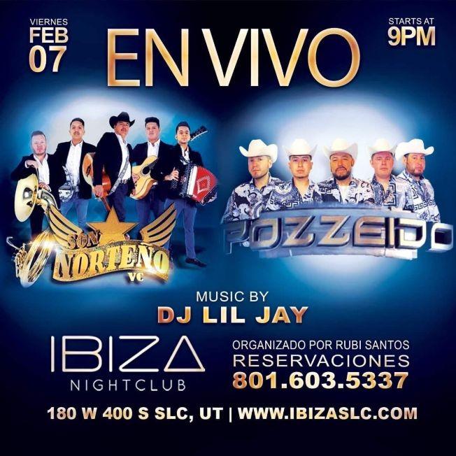 Flyer for Son Norteño VC y Pozzeido en Vivo!
