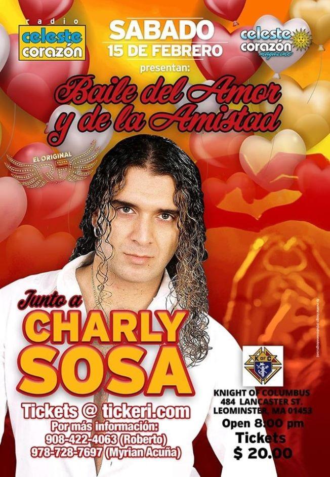 Flyer for Baile del Amor y la Amistad