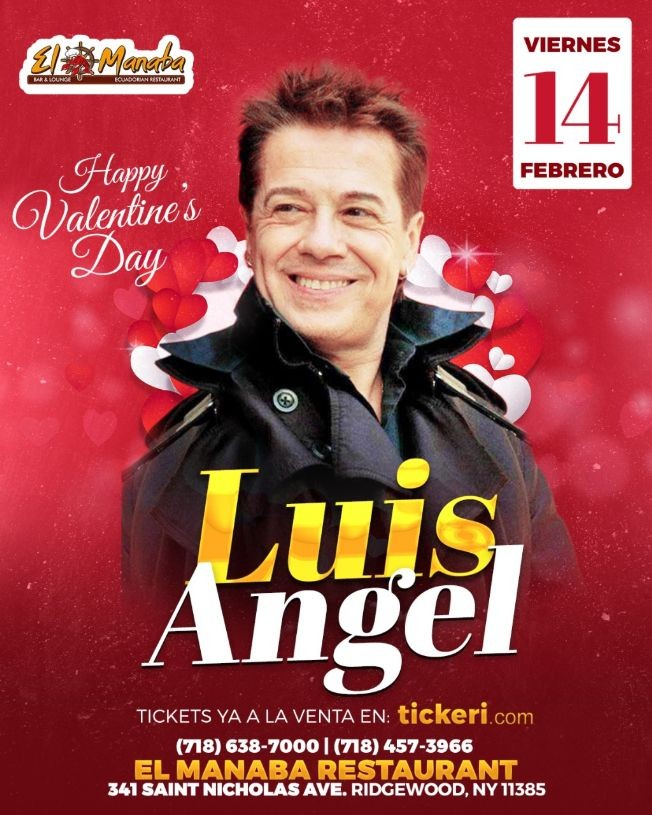 Flyer for Luis Angel en Brooklyn