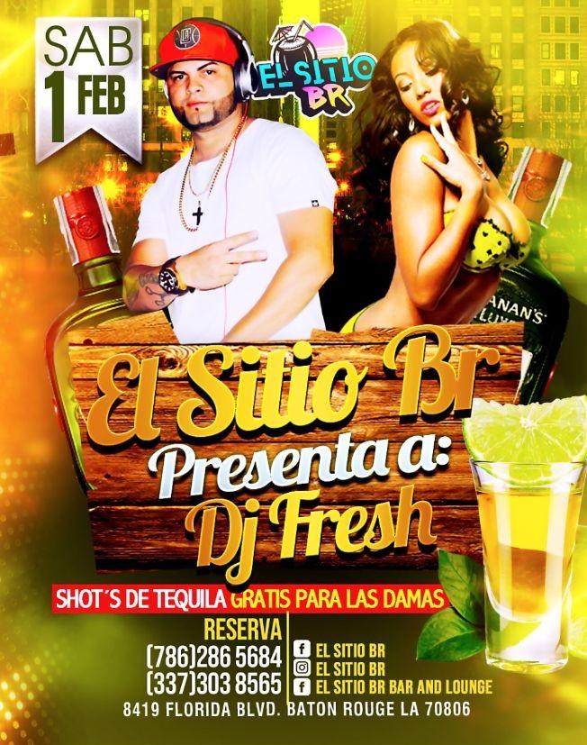 Flyer for Dj Fresh En Baton Rouge,LA