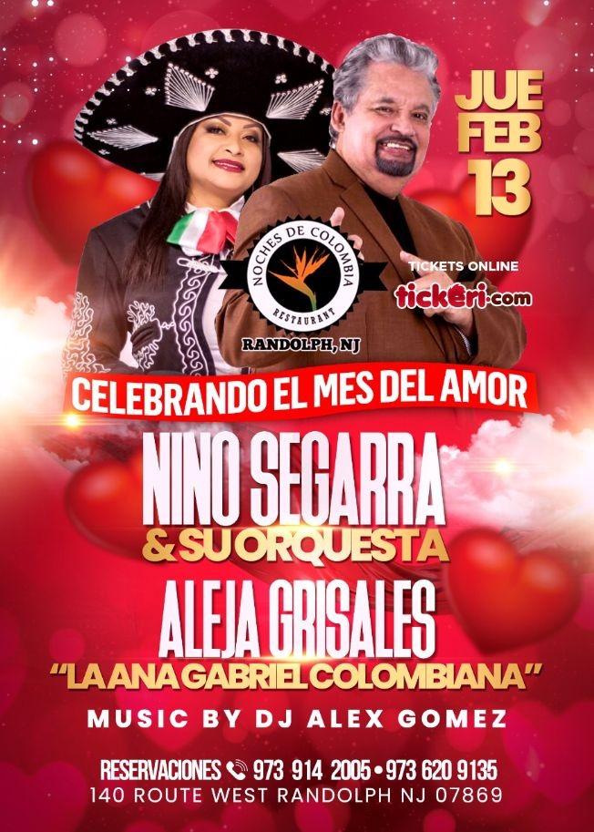 Flyer for CELEBRANDO EL MES DEL AMOR