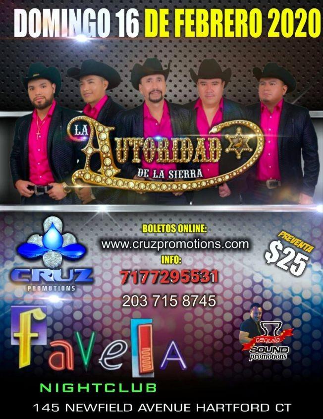 Flyer for Autoridad de la Sierra