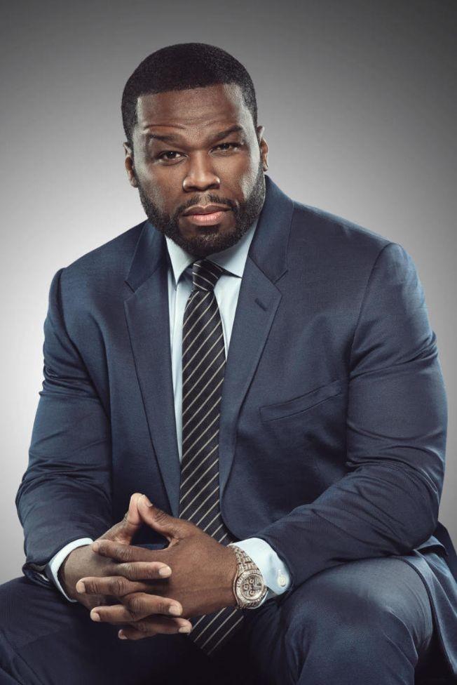 Flyer for 50 Cent hosting at Blue Midtown 2020