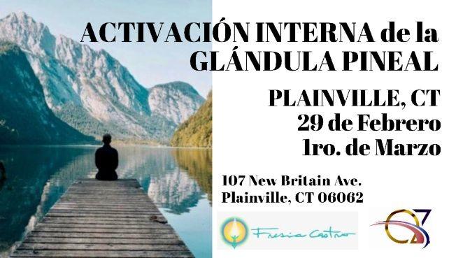 Flyer for Seminario: ACTIVACIÓN INTERNA DE LA GLÁNDULA PINEAL