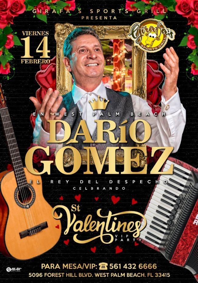Flyer for DARIO GOMEZ en Concierto