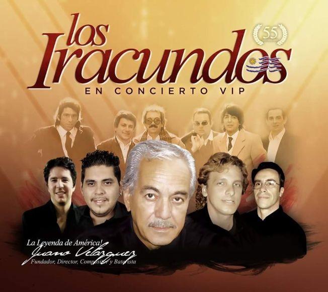 Flyer for LOS IRACUNDOS LIVE ORLANDO