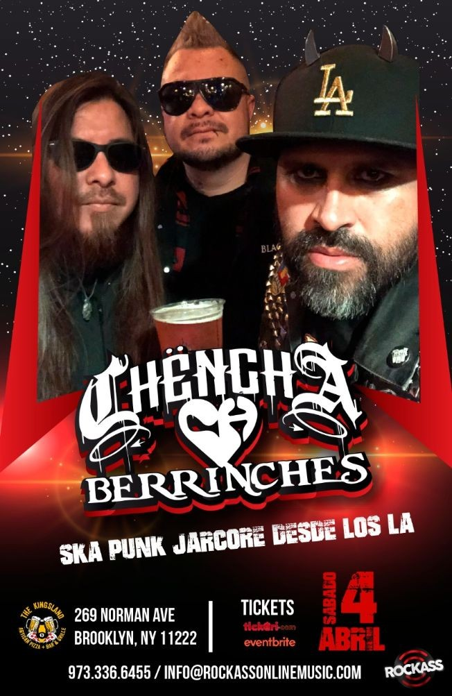 Flyer for Chencha Berrinches en New York (canceled)